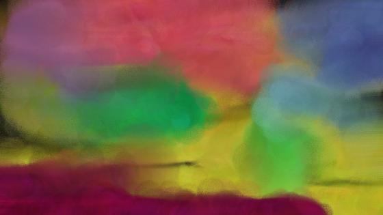 Colorful mist wallpaper
