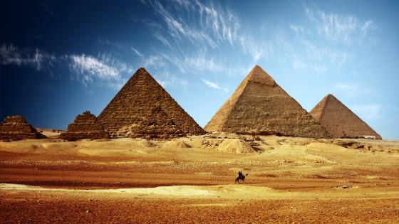 Great Pyramids wallpaper