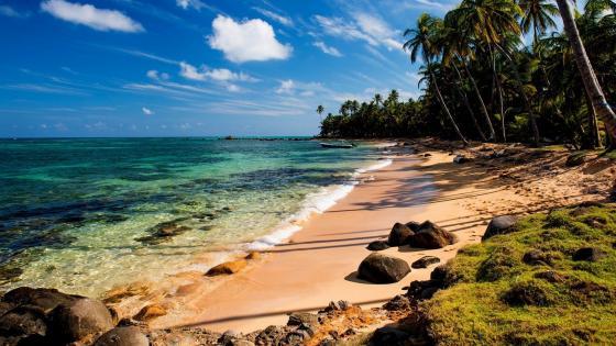 Yemaya Beach, Little Corn Island, Nicaragua wallpaper