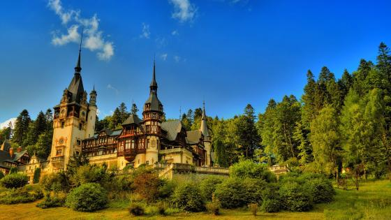 Peles Castle wallpaper