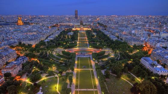 Eiffel Tower view wallpaper