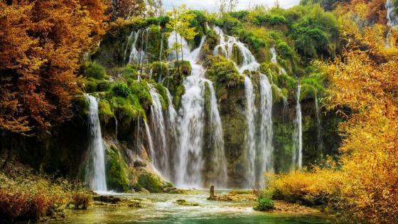 Plitvice Lakes National Park, wallpaper