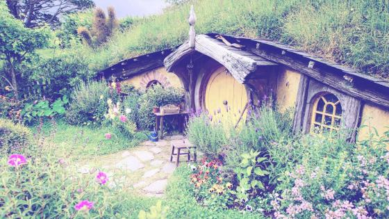 Auckland Hobbiton New Zealand wallpaper