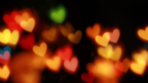 light hearts wallpaper
