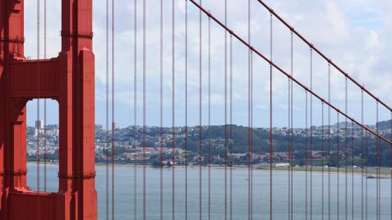San Francisco & the Golden Gate Bridge wallpaper