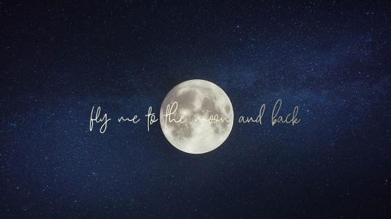 Fly My To The Moon And Back wallpaper