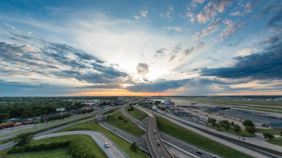 I-70 & the St. Louis Lambert International Airport wallpaper