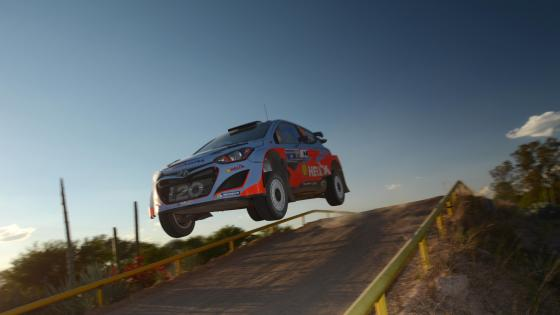 Chris Atkinson & Co-Driver Stéphane Prévot at the 2014 Rally Mexico wallpaper