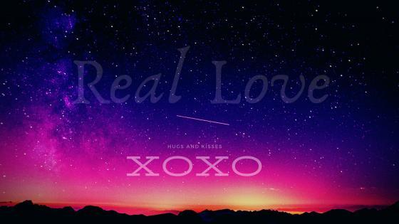 REAL LOVE wallpaper