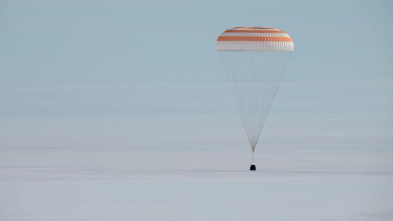 Expedition 61 Soyuz Landing wallpaper