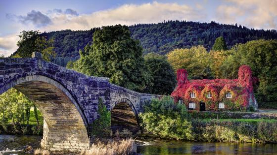 Llanrwst bridge wallpaper