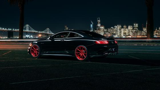 Mercedes-Benz S63 AMG, Coupe wallpaper