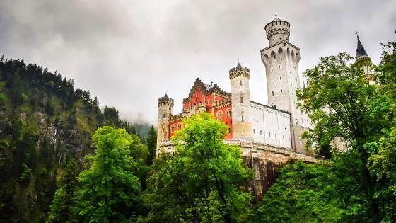 Schloss Neuschwanstein wallpaper