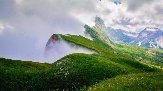 Odle Mountains (Dolomites) wallpaper