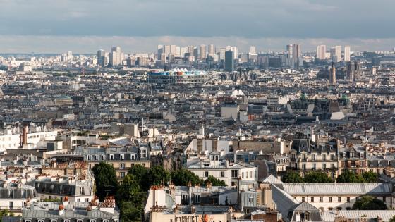 View from Sacré-Cœur de Montmartre wallpaper