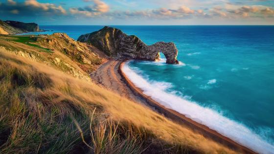 Durdle Door, Jurassic Coast, Dorset, England wallpaper