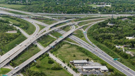 I-435 & 3 Trails Crossing in Kansas City wallpaper