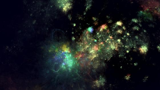 the colourful universe wallpaper