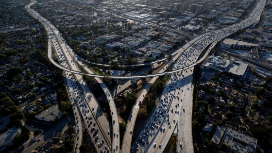 Traffic on Interstate 405 & Interstate 10 wallpaper