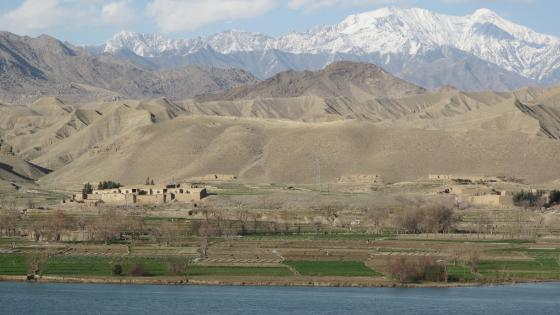 Scenery Along the Kabul-Jalalabad Highway near Kabul wallpaper