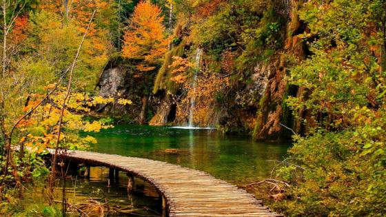 Plitvice Lakes wallpaper