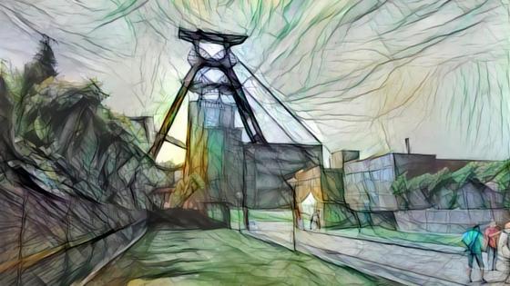 Zeche Zollverein wallpaper