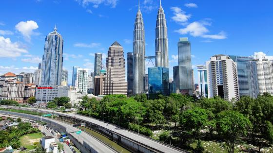 Kuala Lumpur Skyscrapers wallpaper
