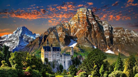 Neuschwanstein Castle wallpaper