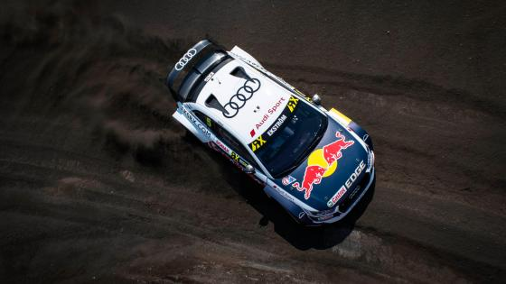 Mattias Ekström in his Audi S1 at the 2018 World RX of Canada wallpaper