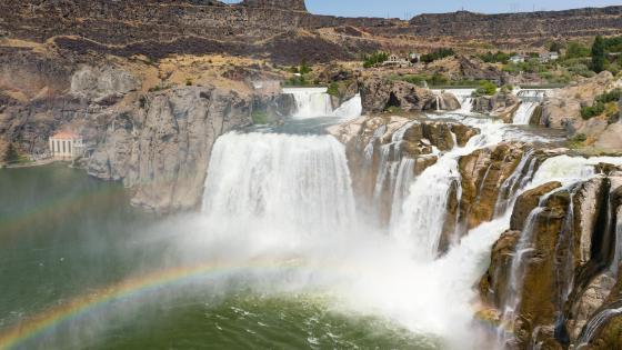 Shoshone Falls, Idaho wallpaper