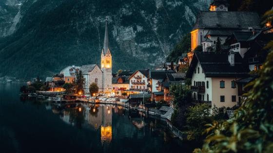 Hallstatt, Austria wallpaper