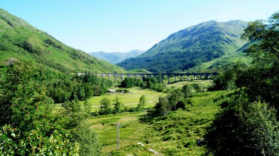 Glenfinnan Viadukt wallpaper