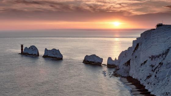 The Needles Lighthouse wallpaper