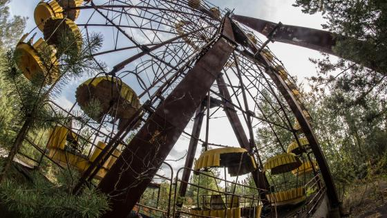 Pripyat amusement park wallpaper