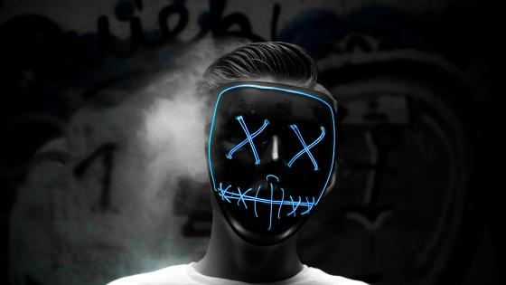 Masked man wallpaper