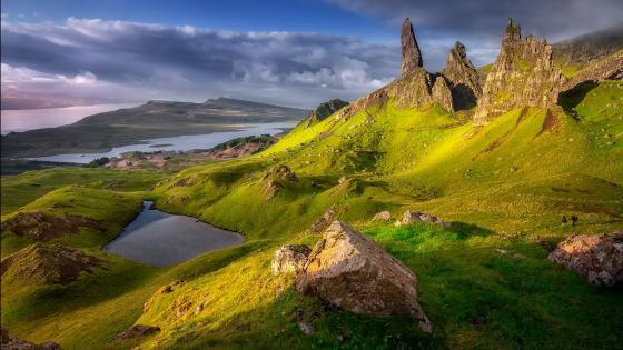 The Storr,  Isle of Skye wallpaper