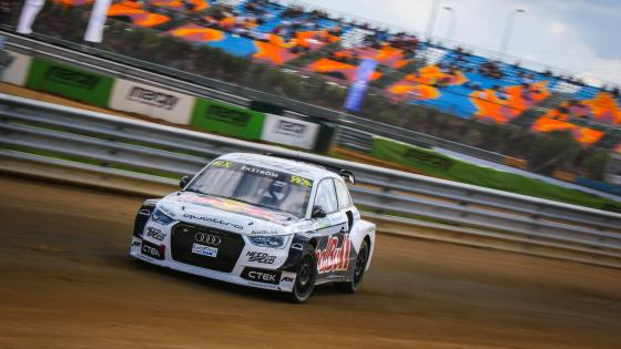 Mattias Ekström at the 2015 World RX of Turkey wallpaper