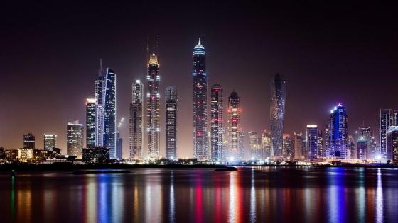 Dubai by Night wallpaper