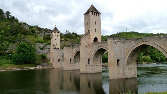 Pont Valentré wallpaper