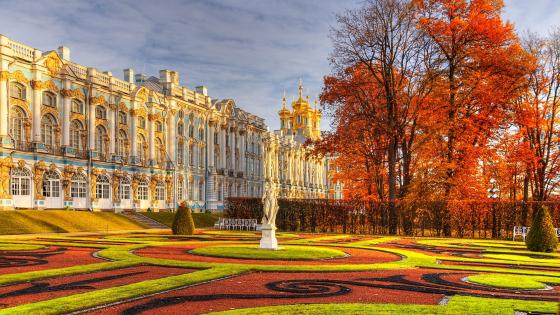 Catherine Palace (Russia) wallpaper
