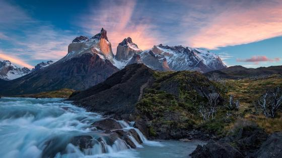 Cordillera del Paine wallpaper