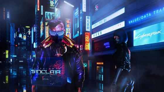Sinclair cyberpunk wallpaper