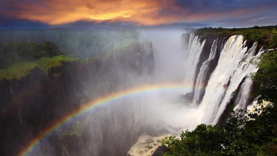 Victoria Falls, Zambia wallpaper