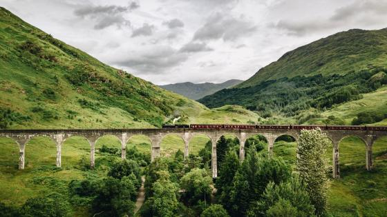 Glenfinnan Viaduct wallpaper