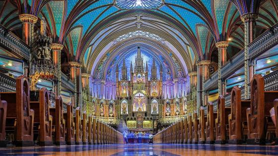 Notre-Dame Basilica (Montreal) wallpaper