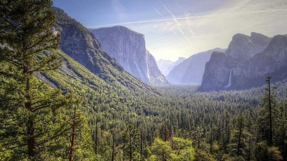 Tunnel View wallpaper