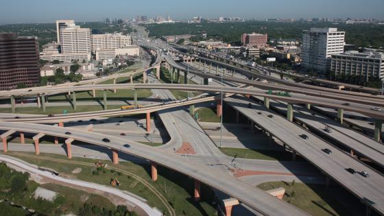 Lyndon B. Johnson Freeway & the Central Expressway wallpaper