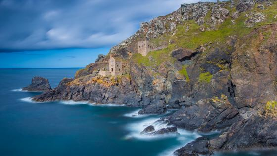 The Count House, Botallack Mine wallpaper