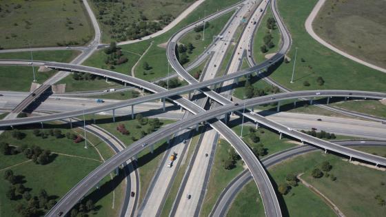 Junction of Interstate 30 & Interstate 820 wallpaper