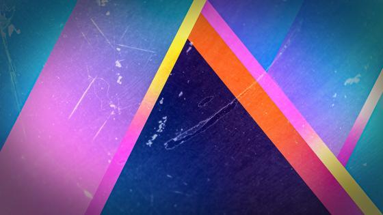 Colorful triangle wallpaper